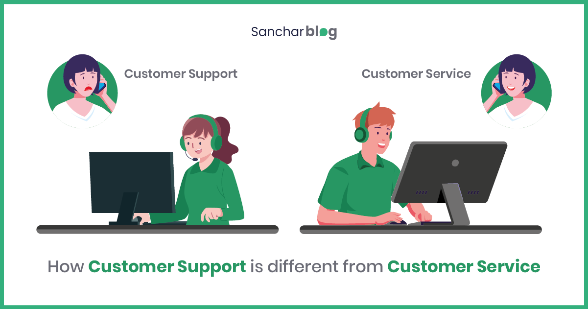Customer Support and Customer Service